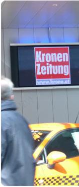 Digitale Werbung Auf Grossbildschirmen In Den Innsbrucker Rathaus Galerien